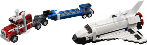 Конструктор LEGO Creator Тягач із шатлом 31091 - фото 3