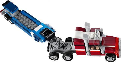 Конструктор LEGO Creator Тягач із шатлом 31091 - фото 5