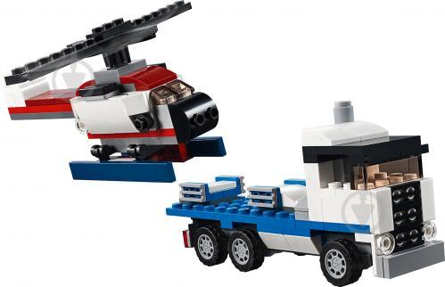 Конструктор LEGO Creator Тягач із шатлом 31091 - фото 6