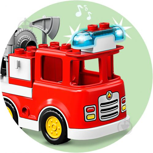 Конструктор LEGO Duplo Пожежне депо 10903 - фото 16