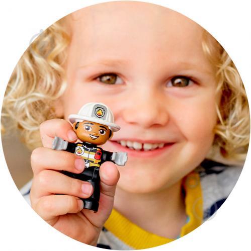 Конструктор LEGO Duplo Пожежне депо 10903 - фото 17