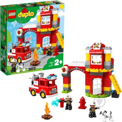 Конструктор LEGO Duplo Пожежне депо 10903 - фото 2