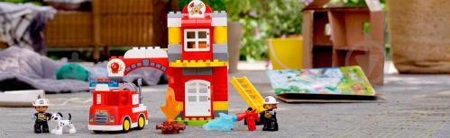 Конструктор LEGO Duplo Пожежне депо 10903 - фото 38