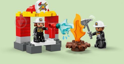 Конструктор LEGO Duplo Пожежне депо 10903 - фото 11