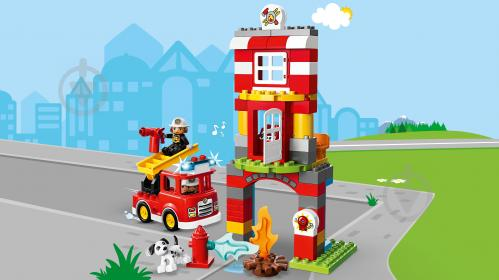 Конструктор LEGO Duplo Пожежне депо 10903 - фото 14