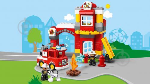 Конструктор LEGO Duplo Пожежне депо 10903 - фото 13