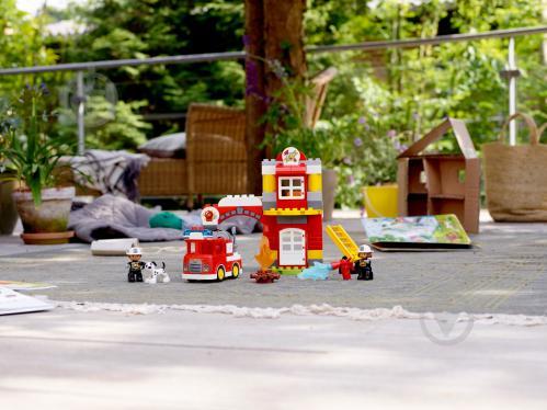 Конструктор LEGO Duplo Пожежне депо 10903 - фото 32