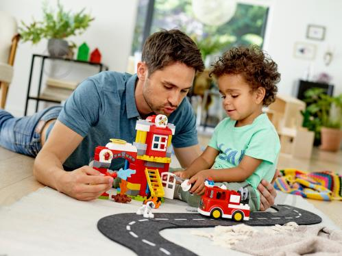 Конструктор LEGO Duplo Пожежне депо 10903 - фото 33