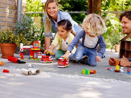 Конструктор LEGO Duplo Пожежне депо 10903 - фото 27