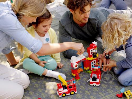 Конструктор LEGO Duplo Пожежне депо 10903 - фото 26