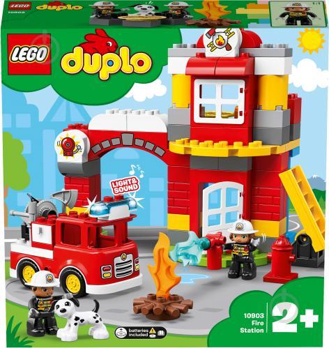 Конструктор LEGO Duplo Пожежне депо 10903 - фото 41