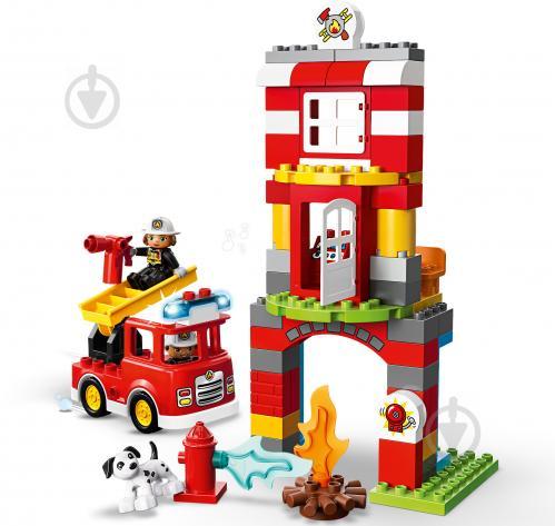 Конструктор LEGO Duplo Пожежне депо 10903 - фото 6