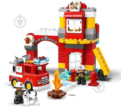 Конструктор LEGO Duplo Пожежне депо 10903 - фото 5