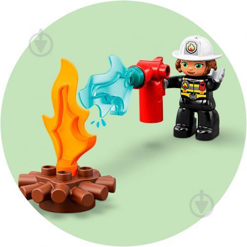 Конструктор LEGO Duplo Пожежне депо 10903 - фото 15