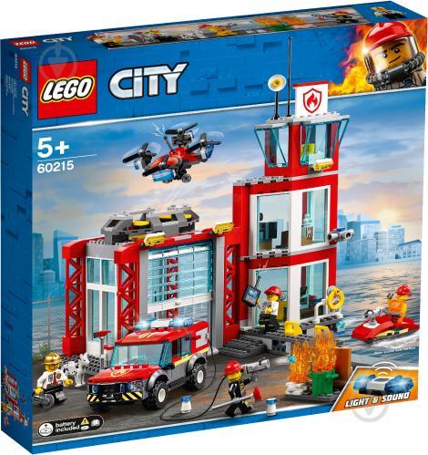 Конструктор LEGO City Пожарное депо 60215 - фото 1