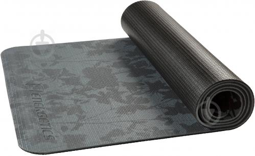 Коврик для йоги Energetics 179823 2 172х61х0.6 см серо-черный - фото 1