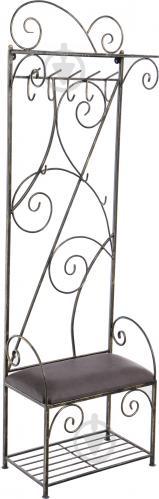 Вешалка для одежды Метал Арт 40412648 пристенная Сакура черный - фото 1