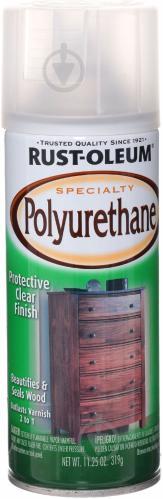 Лак аэрозольный Specialty polyurethane Rust Oleum 319 г