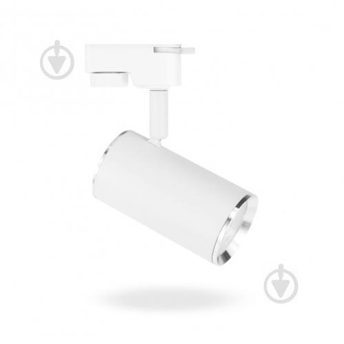 Трековый прожектор LightMaster MLT101-TR MR16 35 Вт белый 987968 - фото 1