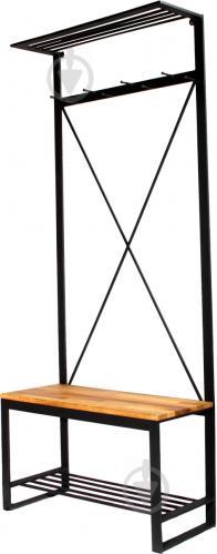 Вешалка для одежды Метал Арт 80368373 Бета черный - фото 1