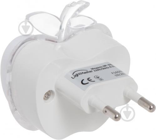 Нічник LightMaster Яблуко 3 Вт білий DEL4004 - фото 3