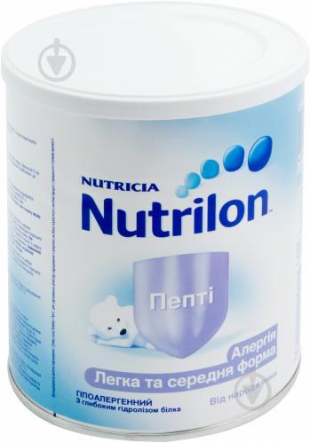 Сухая молочная смесь Nutrilon Пепти 1 573514 400 г 8718117601653