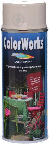 Эмаль аэрозольная RAL 1015 ColorWorks слоновая кость 400 мл