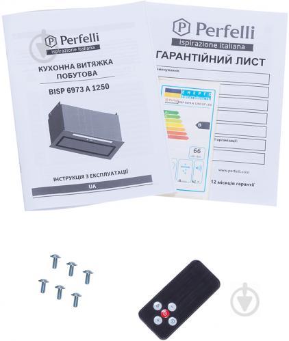 Витяжка Perfelli BISP 6973 A 1250 GF LED Strip - фото 14