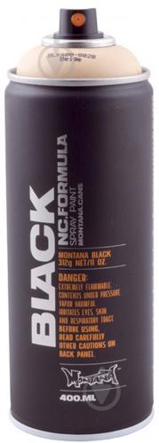 Краска аэрозольная Montana BLACK 8020 бежевий мат 400 мл