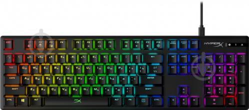 Клавіатура ігрова HyperX Alloy Origins (HX-KB6RDX-RU) black - фото 1