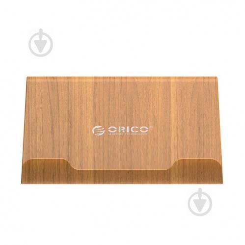 Двухсторонняя многофункциональная подставка Orico WMS-GD под планшет или телефон Wood Golden (600191 - фото 1