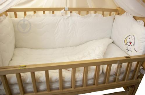 Комплект для дитячого ліжечка Homefort Magic cradle 7 предметів білий  20500111 ed6c3ea44c96b
