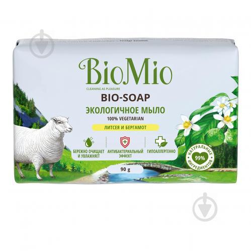 Мыло органическое BioMio BIO-SOAP Литсея и бергамот 90 г - фото 1