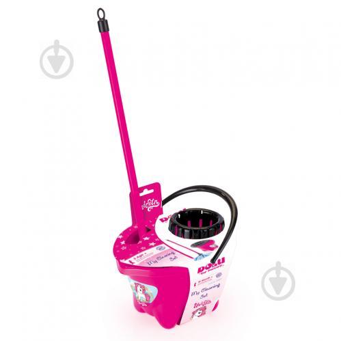 Набір Dolu для прибирання рожевий 2557 - фото 1