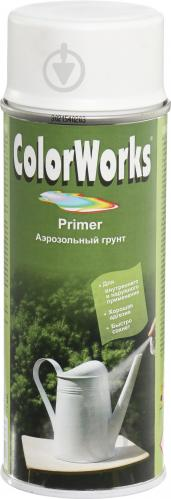 Грунт аэрозольный Primer ColorWorks белый 400 мл