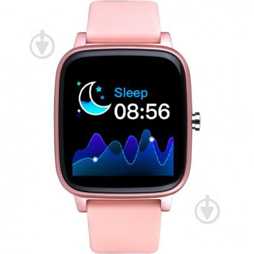 Смарт-часы Smart Watch Gelius Pro (IHEALTH 2020) (IP67) Light Pink - фото 1