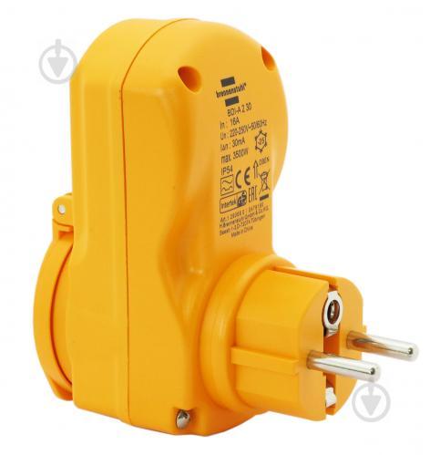 Розетка с устройством защитного отключения Brennenstuhl BDI-A 2 30 IP543500 Вт 16 А - фото 1