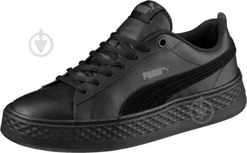 Кеды Puma Smash Platform L 36648701 р. 5 черный