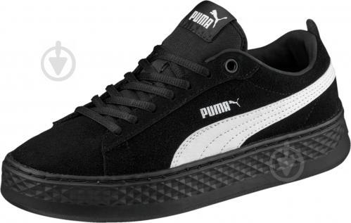 Кеды Puma Smash Platform SD 36648802 р. 6,5 черный