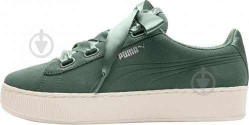 Кеды Puma Vikky Platform Ribbon S 36641805 р. 5 зеленый - фото 5