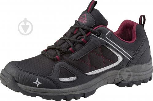 Кроссовки McKinley Maine AQB W 253365-900050 р. 40 черный с бордовым