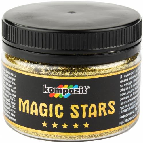 Глиттер Kompozit MAGIC STARS золото 0,06кг - фото 1