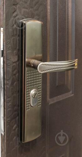 Двері вхідні Y1S37C50 коричневий 2050х960мм праві - фото 3