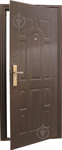 Двері вхідні Y1S37C50 коричневий 2050х960мм праві - фото 2