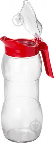 Кувшин Lisa 1,5 л с красной крышкой Everglass - фото 5