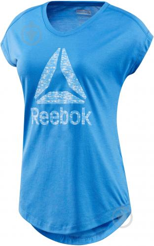 Футболка Reebok Workout Ready Supremium р. XL голубой BK6413