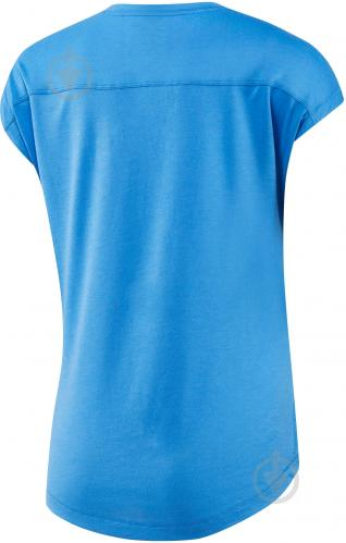 Футболка Reebok Workout Ready Supremium р. XL голубой BK6413 - фото 4