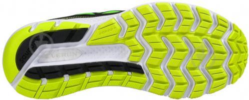 Кроссовки Saucony Hurricane ISO 3 р. 9.5 черно-зеленый - фото 5