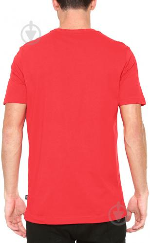 Футболка Puma Essentials Tee р. L красный 85174105 - фото 3