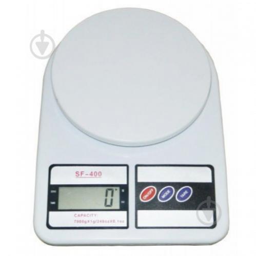 Весы кухонные Kitchen SF-400. 7кг (mt-43) - фото 1
